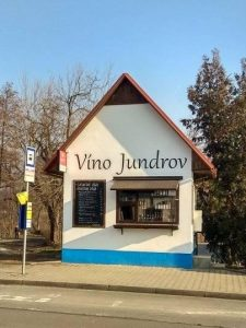 Prodejna vína v Jundrově