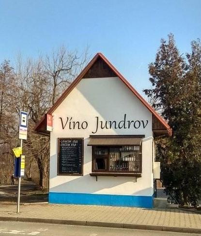 Víno Jundrov - prodejna
