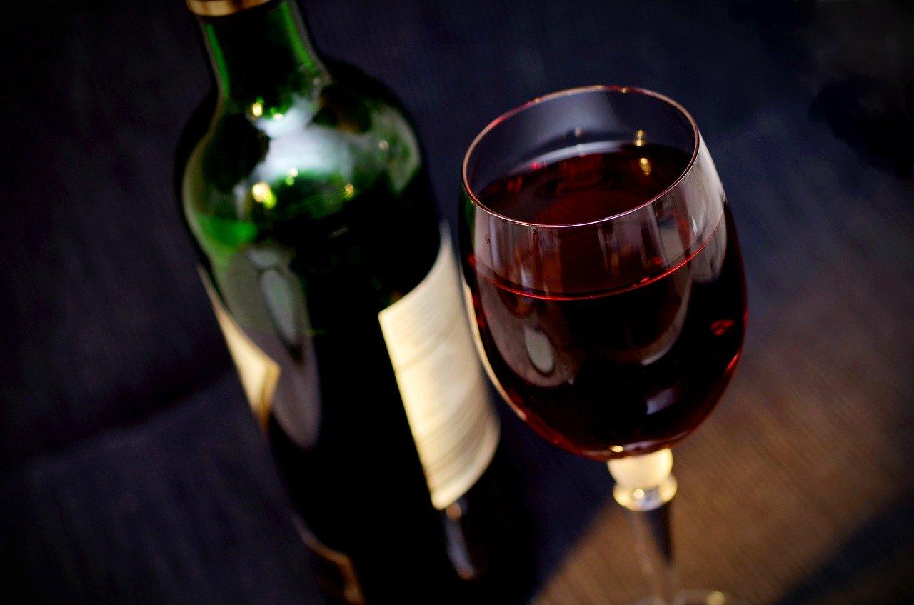 Láhev vína - sleva